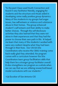 Curriculum Based Support Group Quote